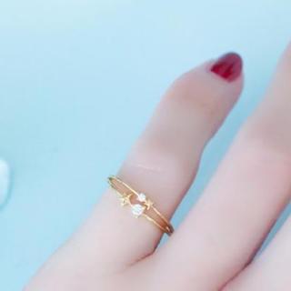 フィービィー(phoebe)の極美品♡ピンキーリング♡Phoebeスターダスト 星(リング(指輪))