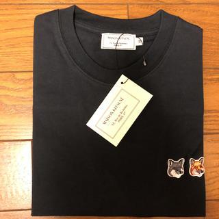 MAISON KITSUNE' - メゾンキツネ tシャツ ダブルフォックス