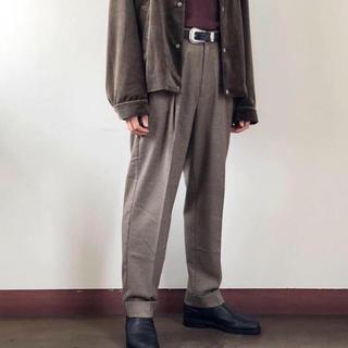 SUNSEA - Utility trouser Gun club check/supernova