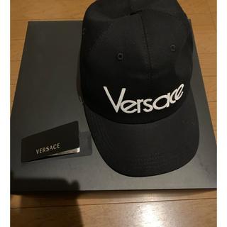 ヴェルサーチ(VERSACE)のVERSACE LOGO CAP ロゴキャップ(キャップ)