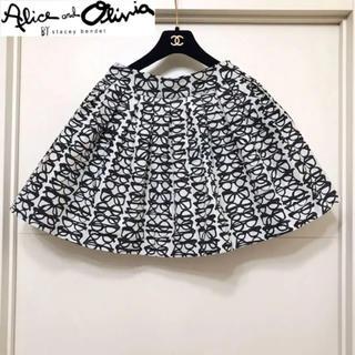 アリスアンドオリビア(Alice+Olivia)の最終お値下げ【新品未着用・タグ付き】アリスアンドオリビア スカート 0サイズ(ミニスカート)