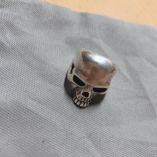 純銀 スカルリング(リング(指輪))