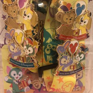 Disney - 香港ディズニー限定 ダッフィー&フレンズ ピントレスターターセット