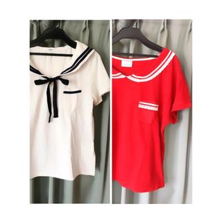 2点セット(Tシャツ(半袖/袖なし))