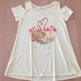 バイバイ(ByeBye)の肩あき Tシャツ(Tシャツ(半袖/袖なし))