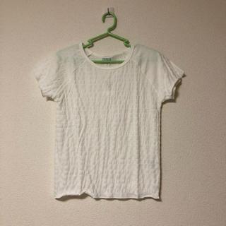 ローリーズファーム(LOWRYS FARM)のLOWRYS FARM シャーリング Tシャツ(Tシャツ(半袖/袖なし))