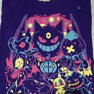 ユニクロ(UNIQLO)のユニクロ ポケモン コラボ Tシャツ ゲンガー M(Tシャツ(半袖/袖なし))