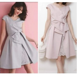 リランドチュール(Rirandture)のこじはる着用 Rirandture ピンクドレス(ミディアムドレス)