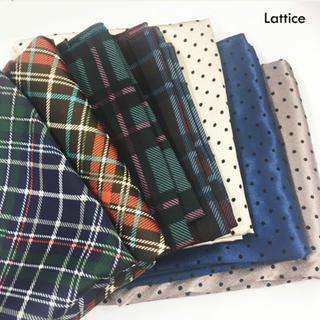 スリーコインズ(3COINS)のlattice ラティス ドットスカーフ(バンダナ/スカーフ)