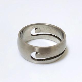 同時購入で350円 ステンレス指輪ナイキ(リング(指輪))