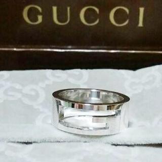 グッチ(Gucci)の未使用品 グッチ ブランテッドGリング9号(リング(指輪))