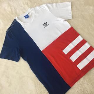 アディダス(adidas)のアディダス オリジナルス❤️Tシャツ ブロックカラー S(Tシャツ/カットソー(半袖/袖なし))