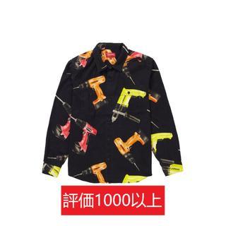 シュプリーム(Supreme)のSupreme Drills Work Shirt 黒M(シャツ)