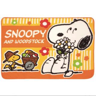 スヌーピー(SNOOPY)のスヌーピー ブランケット ひざ掛け(おくるみ/ブランケット)