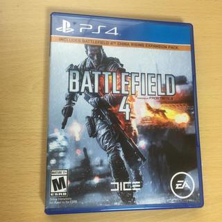 PlayStation4 - PS4 北米版 バトルフィールド4
