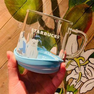 Starbucks Coffee - スタバ 氷山 一角 動物 熊 ペンギン カップ 波コースター 7月海外限定最安値