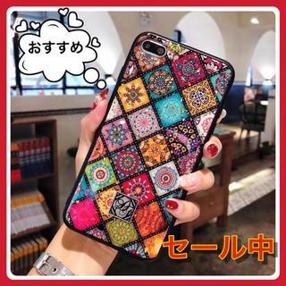 ♡大人気♡ エスニック 民族 カラフル スマホケース アイフォンケース
