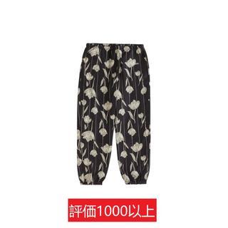 シュプリーム(Supreme)のSupreme Floral Silk Track Pant 黒M(その他)