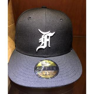 フィアオブゴッド(FEAR OF GOD)の1/4 fog essentials cap ブラック (キャップ)