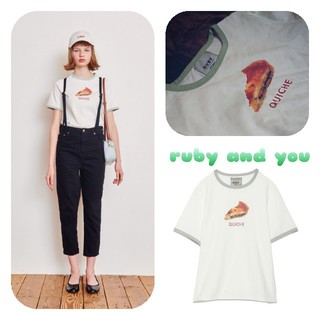 RUBY AND YOU - RUBY キッシュTシャツ♡