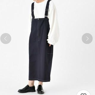 カスタネ(Kastane)のカスタネ ジャンパースカート(ひざ丈スカート)