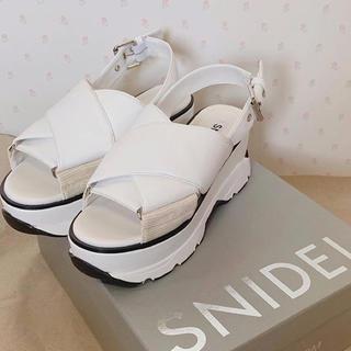 snidel - スニーカーソールサンダル