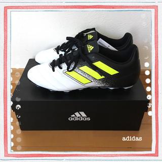 adidas - 新品未使用☆adidas アディダス♪サッカースパイク白☆26.5cm
