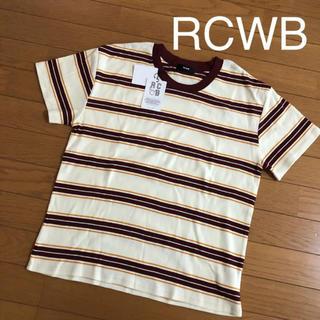 RODEO CROWNS WIDE BOWL - ロデオクラウンズワイドボウル ボーダーTシャツ