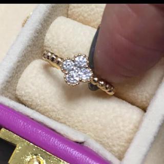 k18 0.25 ダイヤモンド ミルウチ  リング 5号(リング(指輪))