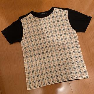 バーバリーブラックレーベル(BURBERRY BLACK LABEL)のバーバリー ブラックレーベル ノバチェック バーバリーチェック(Tシャツ/カットソー(半袖/袖なし))