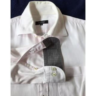 バーバリーブラックレーベル(BURBERRY BLACK LABEL)のBurberry バーバリーブラックレーベル ワイシャツ 40号 ピンク(シャツ)