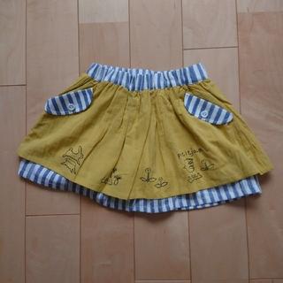 プチジャム(Petit jam)の【新品】プチジャム 100 スカート インパン付(スカート)