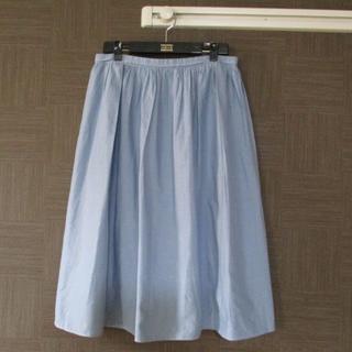 イネド(INED)のイネド INED スカート 13 日本製 春夏 美品(ひざ丈スカート)
