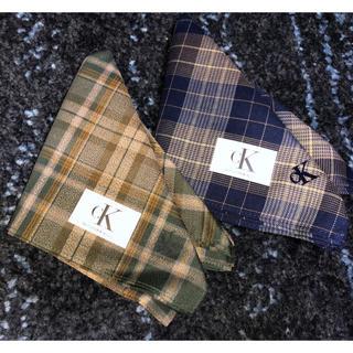 Calvin Klein - カルバン・クライン ck ハンカチ 2枚