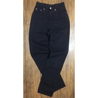 グッチ(Gucci)の希少‼︎ 80s OLD GUCCI オールド グッチ ブラック デニム パンツ(デニム/ジーンズ)