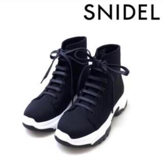 スナイデル(snidel)のSNIDEL 2018 完売品 レース アップ スニーカー ソール(スニーカー)