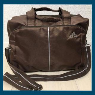 adidas - adidas アディダスショルダーバッグ旅行鞄通勤未使用に近い大容量出張