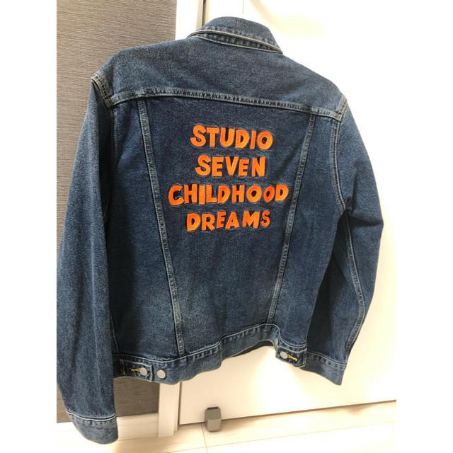 GU(ジーユー)のstudio seven gu ジージャン Mサイズ メンズのジャケット/アウター(Gジャン/デニムジャケット)の商品写真