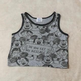 ディズニー(Disney)のミッキー タンクトップ 70-80(タンクトップ/キャミソール)
