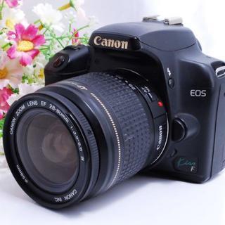 Canon - 【大人気!】初心者でも簡単!CANON キャノン Kiss F レンズキット