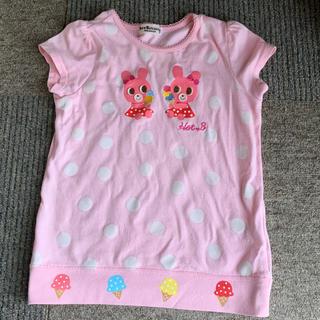 mikihouse - MikiHouse(ミキハウス)女の子 110 半袖Tシャツ