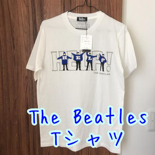MEN'S MELROSE - The Beatles HELP Tシャツ メンズメルローズ