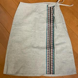 バーバリーブルーレーベル(BURBERRY BLUE LABEL)のBurberry ブルーレーベル 膝丈スカート (ひざ丈スカート)