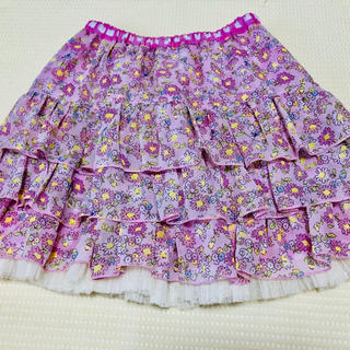 KP - KP☆ニットプランナー☆リバーシブルスカート☆新品☆140