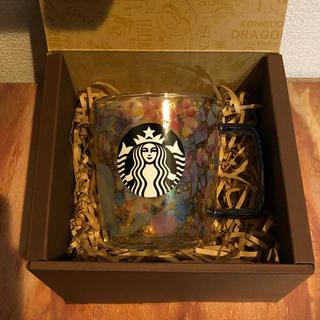 Starbucks Coffee - スターバックス 耐熱グラスマグプリズム