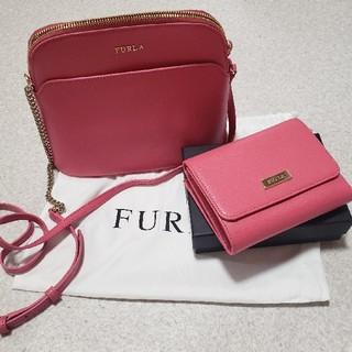 フルラ(Furla)のFURLA  ミニバック 三つ折り財布 セット(財布)