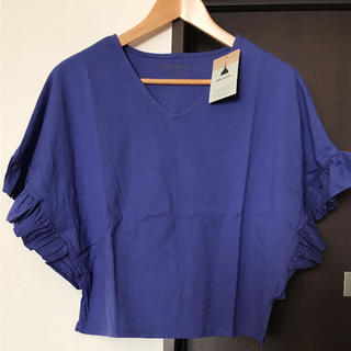 ニコアンド(niko and...)の☆新品ニコアンド フリル袖T☆(Tシャツ(半袖/袖なし))