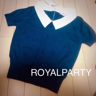 ロイヤルパーティー(ROYAL PARTY)のROYALPARTY(カットソー(半袖/袖なし))