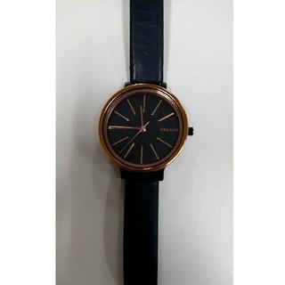 スカーゲン(SKAGEN)のスカーゲン アンカー ブラック(腕時計)