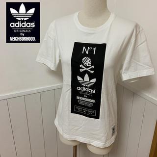 アディダス(adidas)のアディダス ネイバーフッド コラボ Tシャツ サイズXS ナイキ ステューシー(Tシャツ/カットソー(半袖/袖なし))